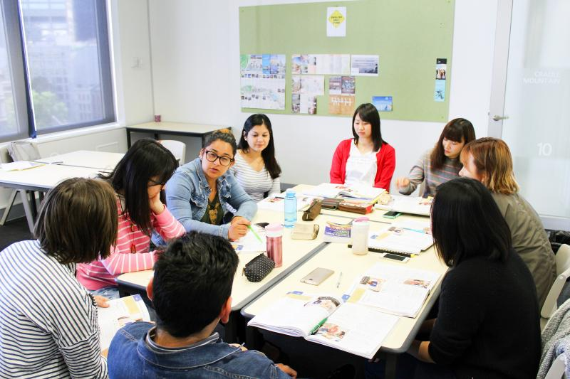 ACE Melbourne College of Englishの授業